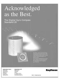 Maritime Reporter Magazine, page 26,  Aug 2000 Raytheon Marine GmbH