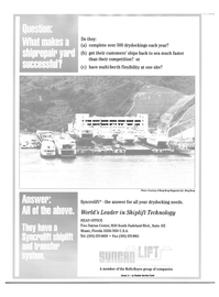 Maritime Reporter Magazine, page 36,  Aug 2000 Hong Kong Shipyards Ltd.