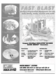 Maritime Reporter Magazine, page 45,  Aug 2000 Generators Fast Rotary Guns Pump Systems