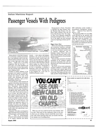 Maritime Reporter Magazine, page 47,  Aug 2000