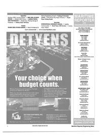 Maritime Reporter Magazine, page 4,  Aug 2000 Oksana Mortemy