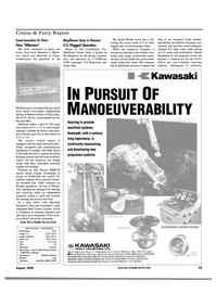 Maritime Reporter Magazine, page 59,  Aug 2000 Florida