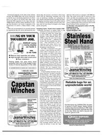 Maritime Reporter Magazine, page 65,  Aug 2000 Washington