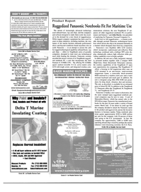 Maritime Reporter Magazine, page 3rd Cover,  Aug 2000 anti-reflective filter technology