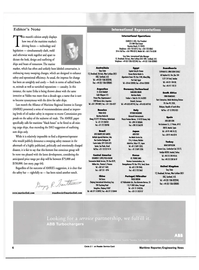 Maritime Reporter Magazine, page 6,  Aug 2000 Scandinavia