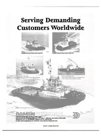 Maritime Reporter Magazine, page 12,  Sep 2000 Serving Demanding Customers Worldwide