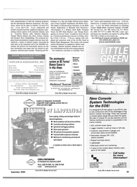 Maritime Reporter Magazine, page 29,  Sep 2000