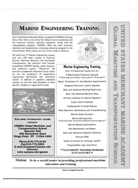 Maritime Reporter Magazine, page 5,  Sep 2000 USMMA Global Maritime and Transportation School
