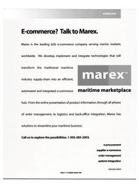Maritime Reporter Magazine, page 7,  Sep 2000 e-procurement supplier