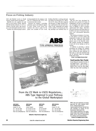 Maritime Reporter Magazine, page 28,  Oct 2000