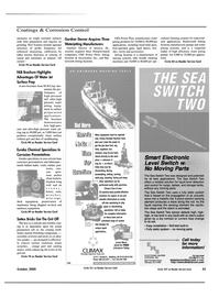 Maritime Reporter Magazine, page 33,  Oct 2000 water jetting products