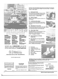 Maritime Reporter Magazine, page 2,  Oct 2000 John J. O