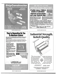 Maritime Reporter Magazine, page 43,  Oct 2000 Maintain Control Open seas