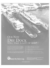 Maritime Reporter Magazine, page 57,  Oct 2000 Atlantic Dry Dock Corp.