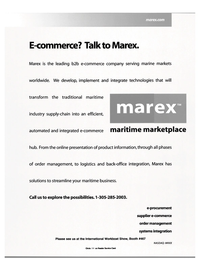 Maritime Reporter Magazine, page 9,  Nov 2000 e-procurement supplier