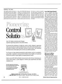 Maritime Reporter Magazine, page 26,  Nov 2000
