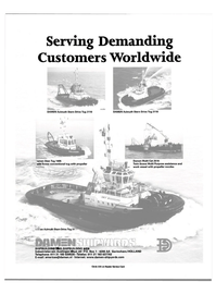 Maritime Reporter Magazine, page 27,  Nov 2000 Serving Demanding Customers Worldwide