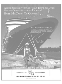 Maritime Reporter Magazine, page 32,  Nov 2000 HOSE-McCANN TELEPHONE CO. INC.