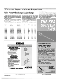 Maritime Reporter Magazine, page 35,  Nov 2000 Larger Engine Range Sweden