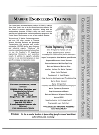 Maritime Reporter Magazine, page 41,  Nov 2000 USMMA Global Maritime and Transportation School