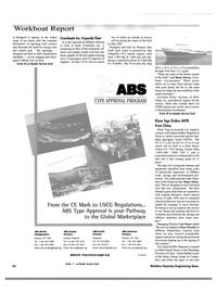 Maritime Reporter Magazine, page 54,  Nov 2000 Peter Worden