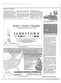 Maritime Reporter Magazine, page 62,  Nov 2000 Florida