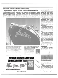 Maritime Reporter Magazine, page 3rd Cover,  Nov 2000 CONTAINS COATINGS BETTER THAN NEW FORCE