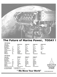 Maritime Reporter Magazine, page 4th Cover,  Nov 2000