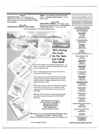 Maritime Reporter Magazine, page 6,  Nov 2000 Joe Trubinsky