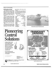 Maritime Reporter Magazine, page 19,  Dec 2000 cast iron engine