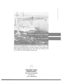 Maritime Reporter Magazine, page 20,  Dec 2000 Newport News shipbuilding
