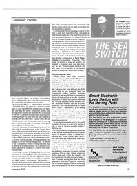 Maritime Reporter Magazine, page 34,  Dec 2000 automatic welding equipment