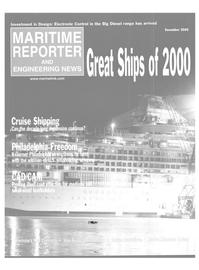 Maritime Reporter Magazine, page 2,  Dec 2000