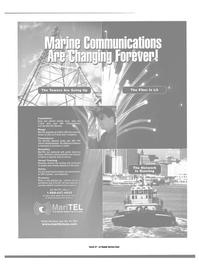 Maritime Reporter Magazine, page 44,  Dec 2000 satellite communication systems