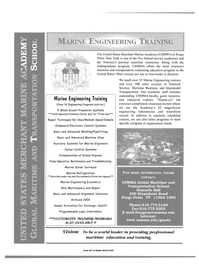 Maritime Reporter Magazine, page 3,  Dec 2000 USMMA Global Maritime and Transportation School