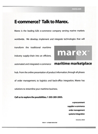 Maritime Reporter Magazine, page 4,  Dec 2000 e-procurement supplier