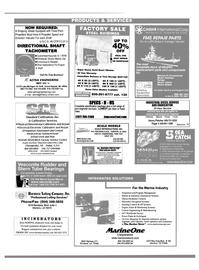 Maritime Reporter Magazine, page 58,  Dec 2000 Factory Service Center