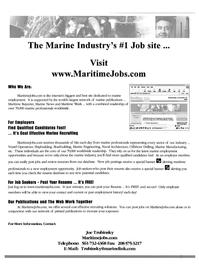 Maritime Reporter Magazine, page 61,  Dec 2000 Mai Print Edit Ajjdress