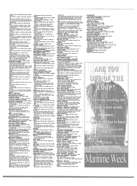 Maritime Reporter Magazine, page 3rd Cover,  Dec 2000