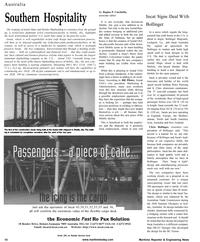 Maritime Reporter Magazine, page 10,  Jan 2001