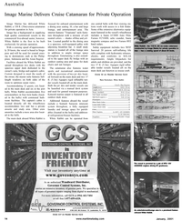 Maritime Reporter Magazine, page 14,  Jan 2001