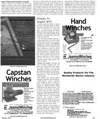 Maritime Reporter Magazine, page 15,  Jan 2001 Moulin