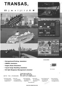 Maritime Reporter Magazine, page 2nd Cover,  Jan 2001