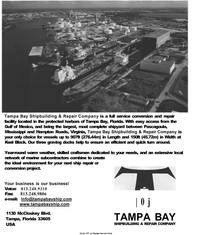 Maritime Reporter Magazine, page 30,  Jan 2001