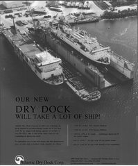 Maritime Reporter Magazine, page 32,  Jan 2001 Atlantic Dry Dock Corp.