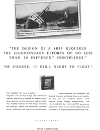 Maritime Reporter Magazine, page 39,  Jan 2001 construction software