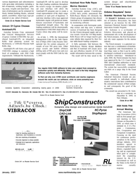 Maritime Reporter Magazine, page 41,  Jan 2001 CAD/CAM