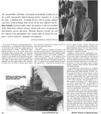 Maritime Reporter Magazine, page 42,  Jan 2001