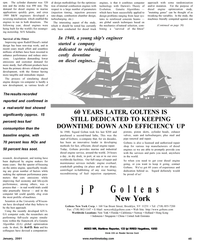 Maritime Reporter Magazine, page 45,  Jan 2001
