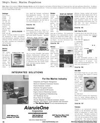 Maritime Reporter Magazine, page 46,  Jan 2001